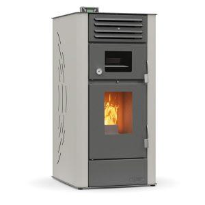 Σόμπα Pellet Αέρα Με Φούρνο Thermogatz GSP Oven Up 12 12kW (02.300.068)