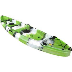 Καγιάκ Argo Poseidon Διθέσιο-Τριθέσιο Πράσινο-Λευκό-Μαύρο (Full Μοντέλο)